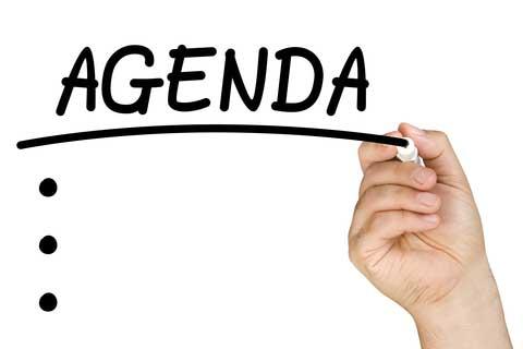 how to set meeting agenda