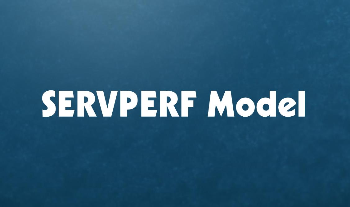 simplynotes - the servperf model