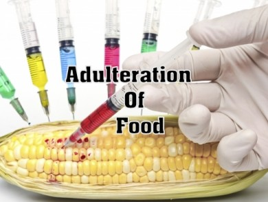 food adulteration A summary of the meaning of the terms interstate commerce, adulterated, and misbranded, as they apply to cosmetics under the federal food, drug, and cosmetic act.