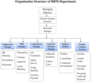 Personnel Department in Functional Organization