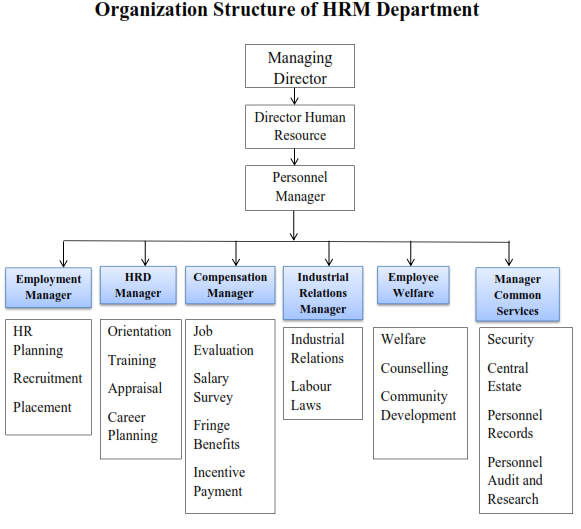 Structure of Personnel department - Simple and Comprehensive notes ...